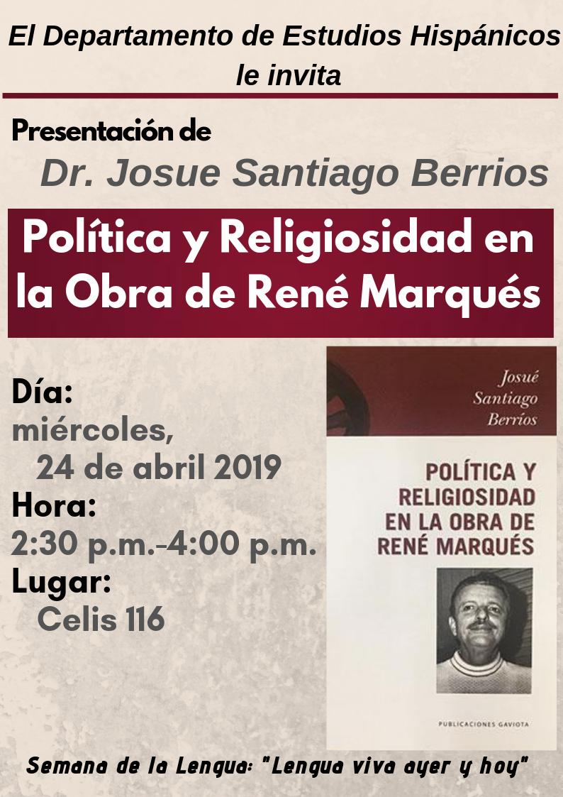 Presentacion Dr. Josue Santiago