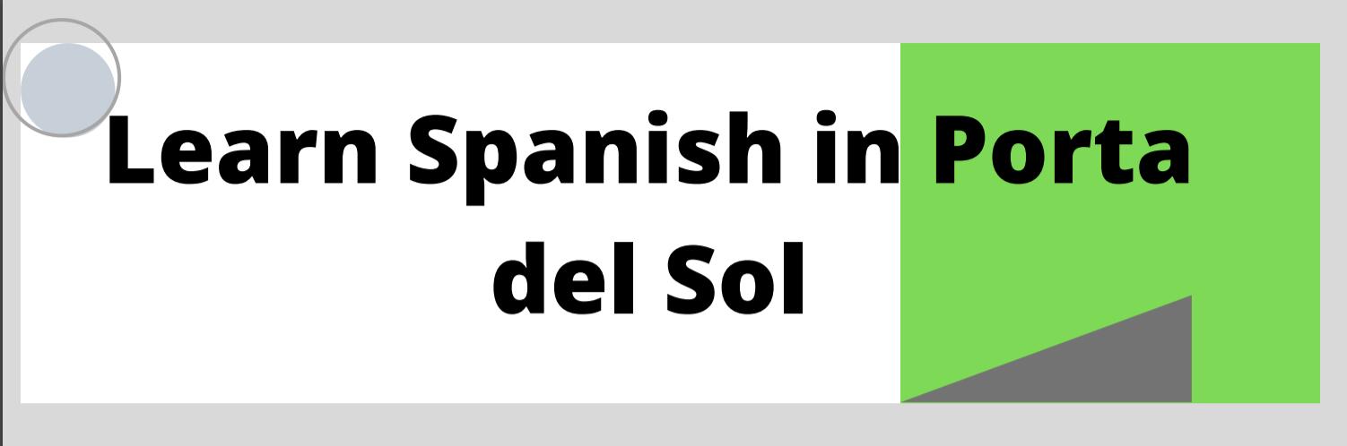LEARN SPANISH IN PORTA DEL SOL