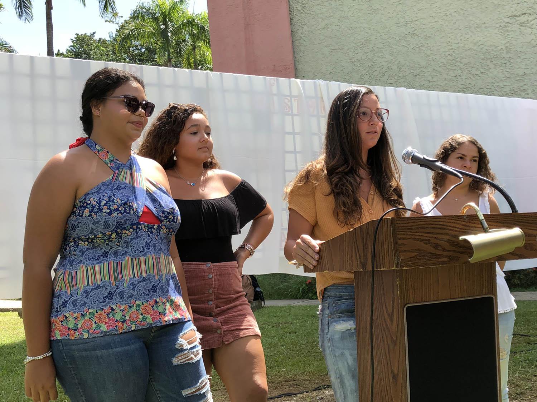Estudiantes participantes en el TEEA