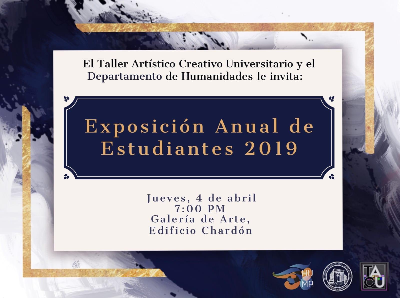 Exposicion Anual de Estudiantes 2019