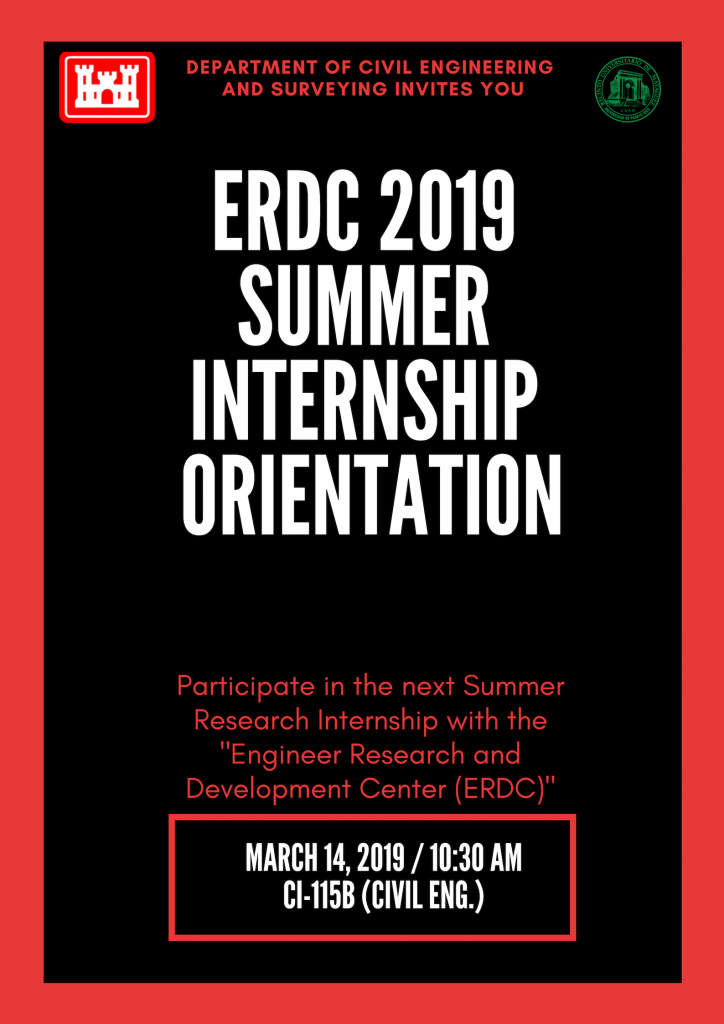 ERDC orientation