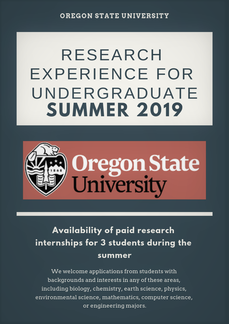 Oregon State University Research Experience for