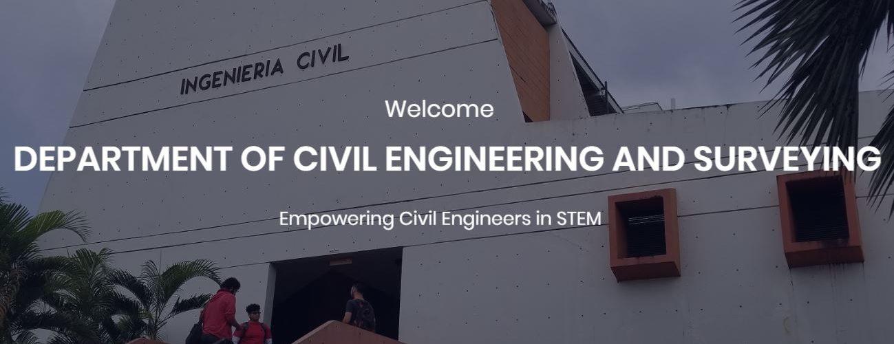 Department of Civil Engineering Home