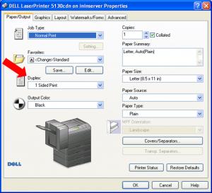 Instrucciones para configuración duplex en impresora 2