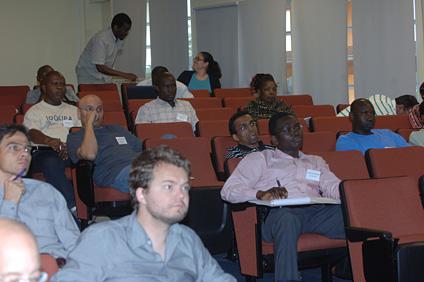 Los participantes tuvieron la oportunidad de compartir los avances de la investigación fortificar biológicamente la yuca.