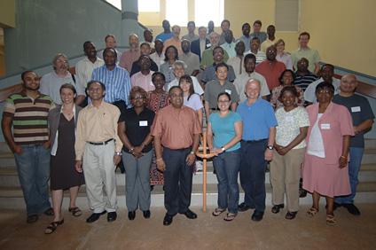 El encuentro reunió a científicos de Estados Unidos, Inglaterra, Suiza, Colombia, Puerto Rico y África.