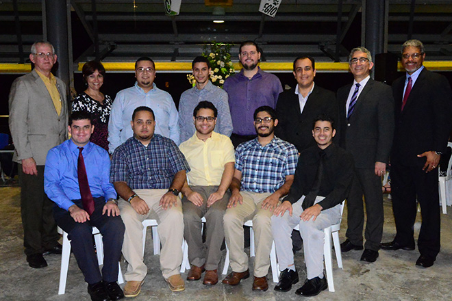 Los integrantes del &lt;em&gt;College Robotics for Mechanical Engineers&lt;/em&gt;.<br>Carlos D&iacute;az/Prensa RUM