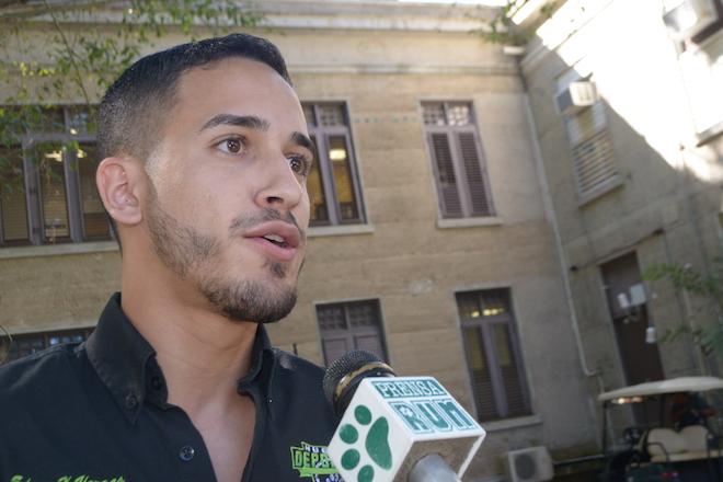 Edgar A. Vargas Acevedo, de Mercadeo, es el fundador del grupo.<br>Carlos Díaz/Prensa RUM