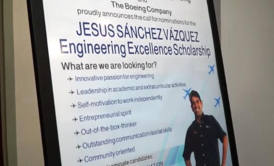 Beca Jesús Sánchez