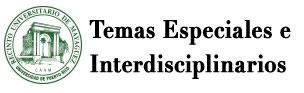 Temas Especiales e Interdisciplinarios